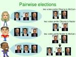 pairwise elections