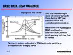 basic data heat transfer