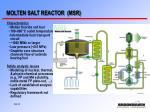molten salt reactor msr