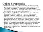 online scrapbooks