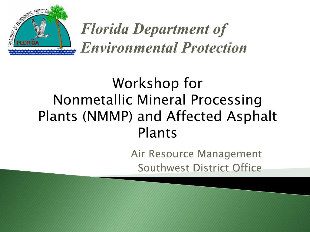 florida department of environmental protection l.