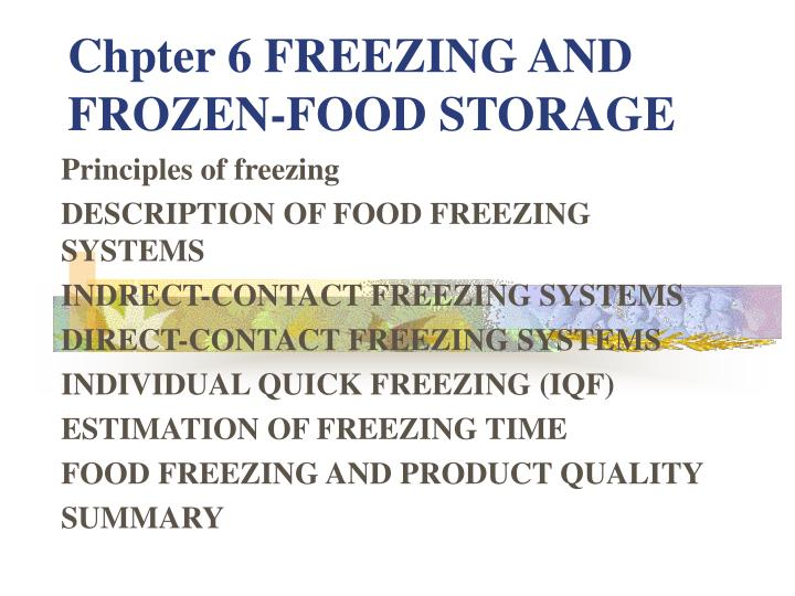 Pdf) quality and safety of frozen vegetables.