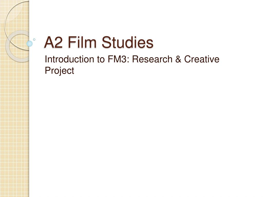 a2 film studies l.