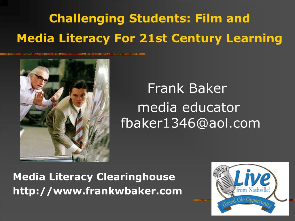 challenging students film and media literacy for 21st century learning l.