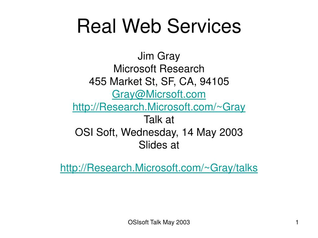 real web services l.