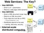 web services the key