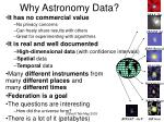 why astronomy data15