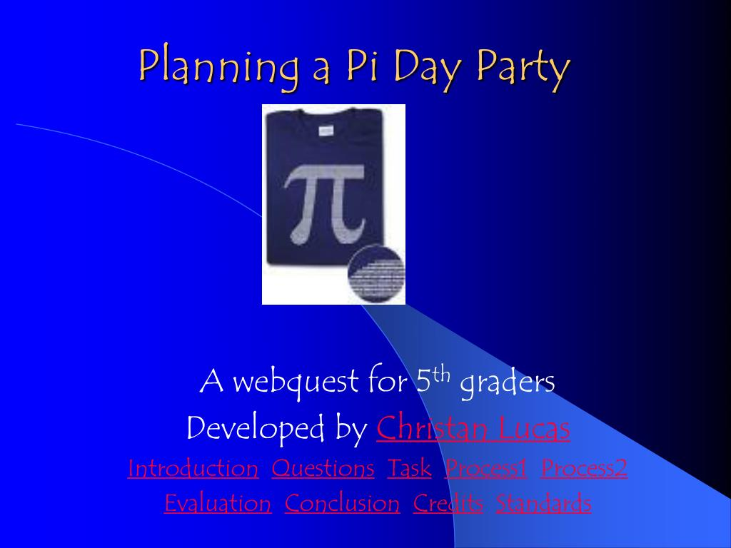 planning a pi day party l.