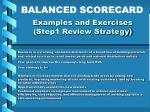 examples and exercises step1 review strategy