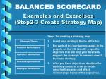 examples and exercises step2 3 create strategy map