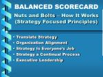 nuts and bolts how it works strategy focused principles