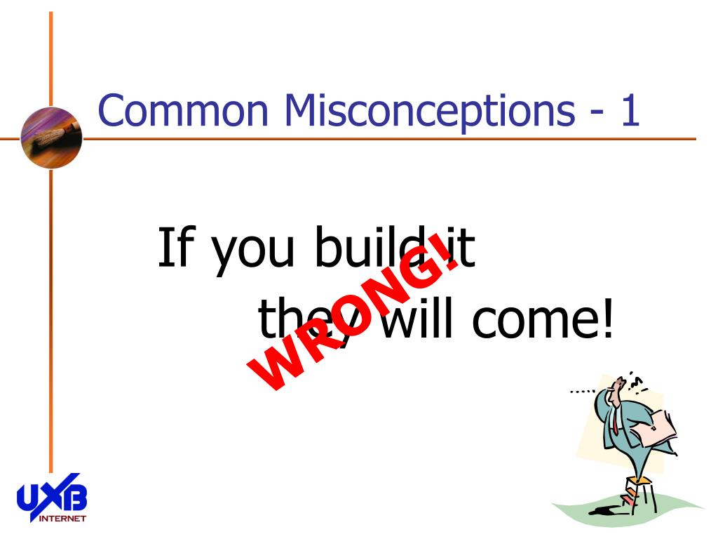 Common Misconceptions - 1