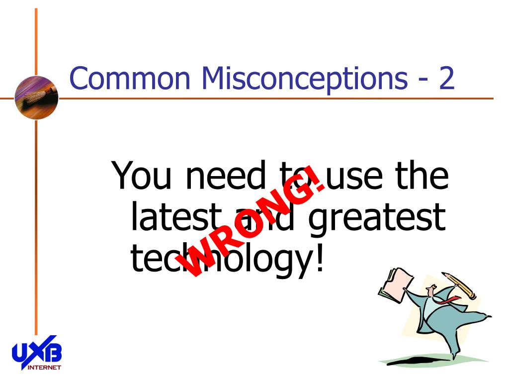 Common Misconceptions - 2