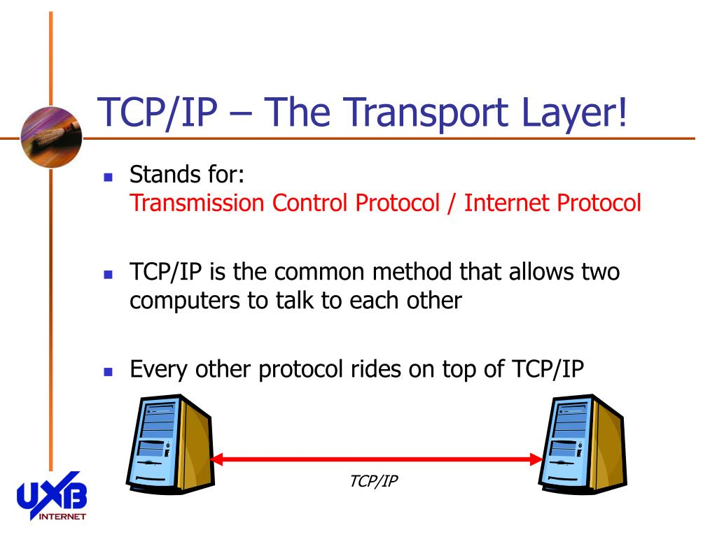 TCP/IP – The Transport Layer!