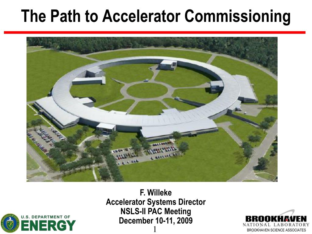 the path to accelerator commissioning l.