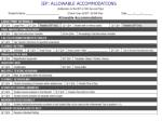iep allowable accommodations
