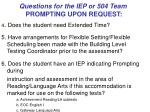 questions for the iep or 504 team prompting upon request66
