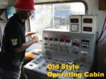 old style operating cabin