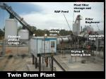 twin drum plant