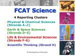 fcat science