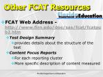 other fcat resources