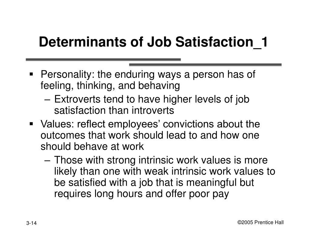 Determinants of Job Satisfaction_1