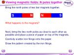 viewing magnetic fields n poles together