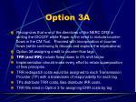 option 3a