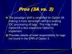 pros 3a vs 3