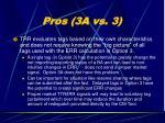pros 3a vs 322