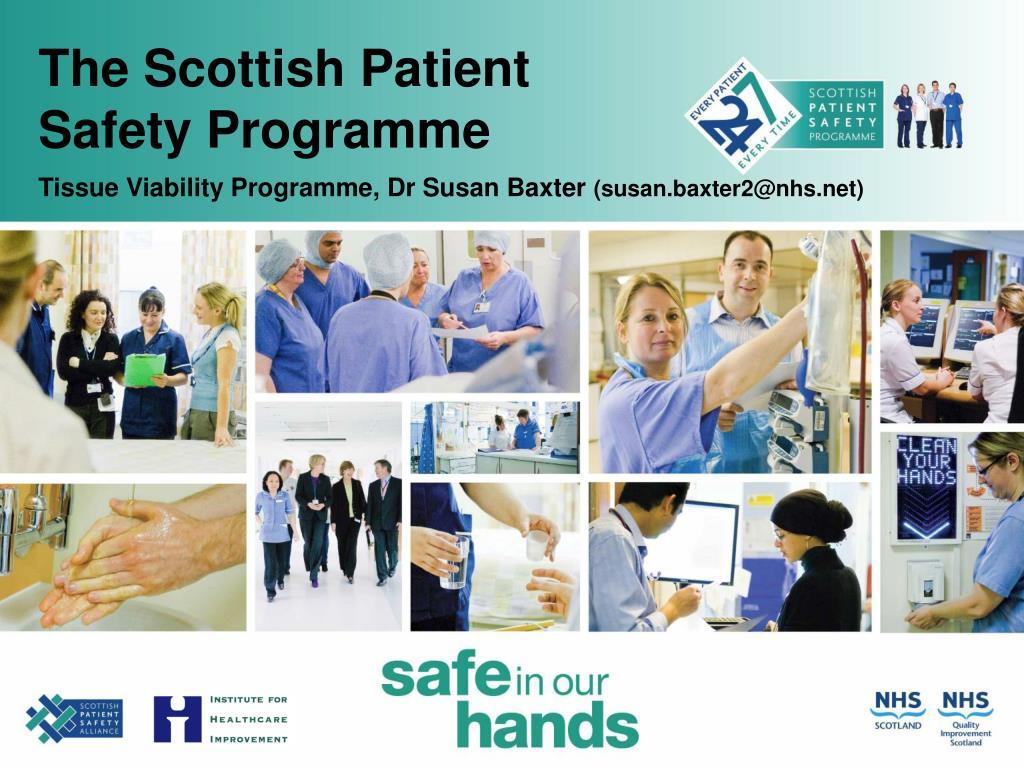 the scottish patient safety programme l.
