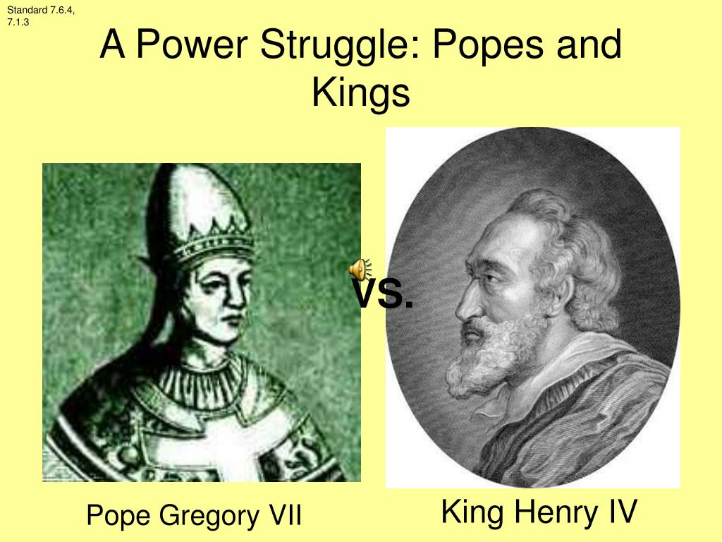 a power struggle popes and kings l.