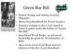 green bar bill