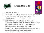 green bar bill42