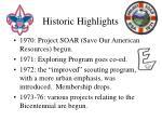 historic highlights50