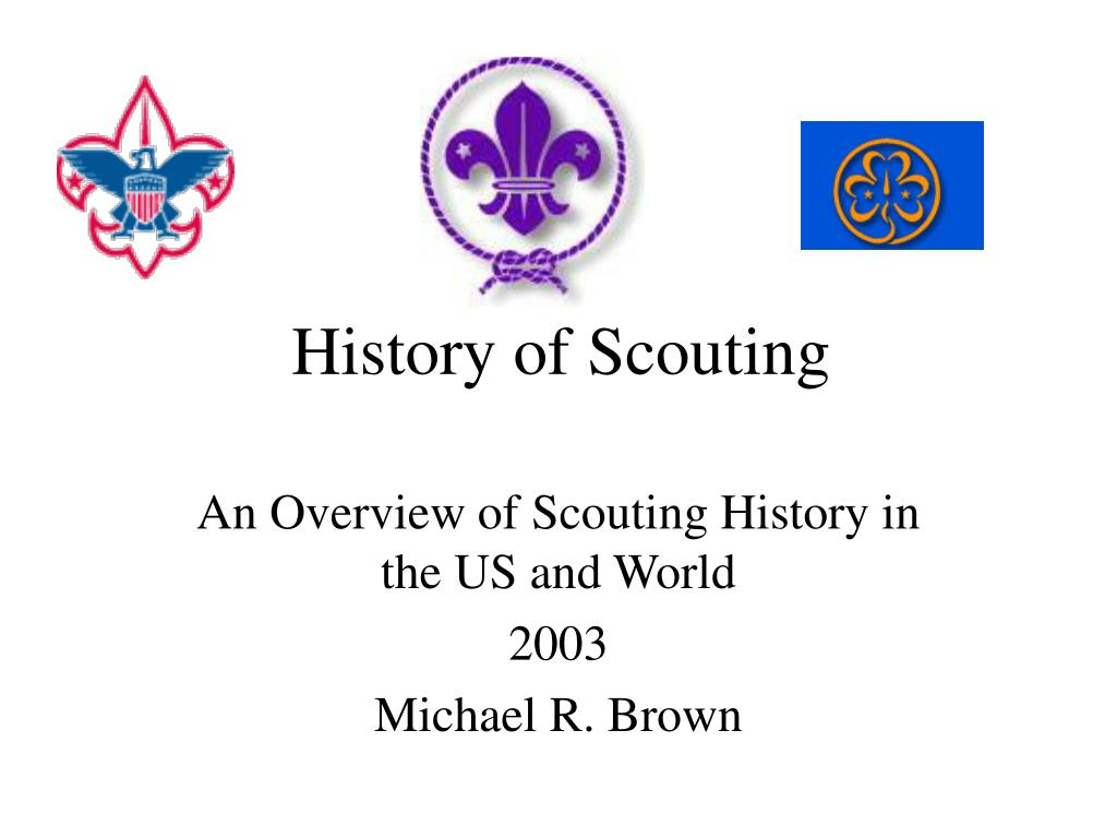 history of scouting l.