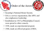 order of the arrow