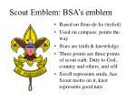 scout emblem bsa s emblem