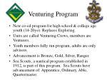 venturing program