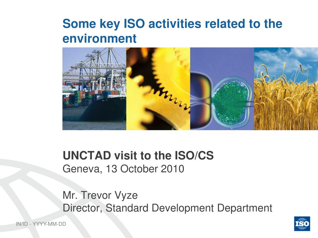 some key iso activities related to the environment l.