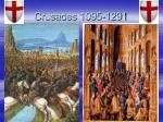 crusades 1095 1291