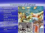 theocracy of europe