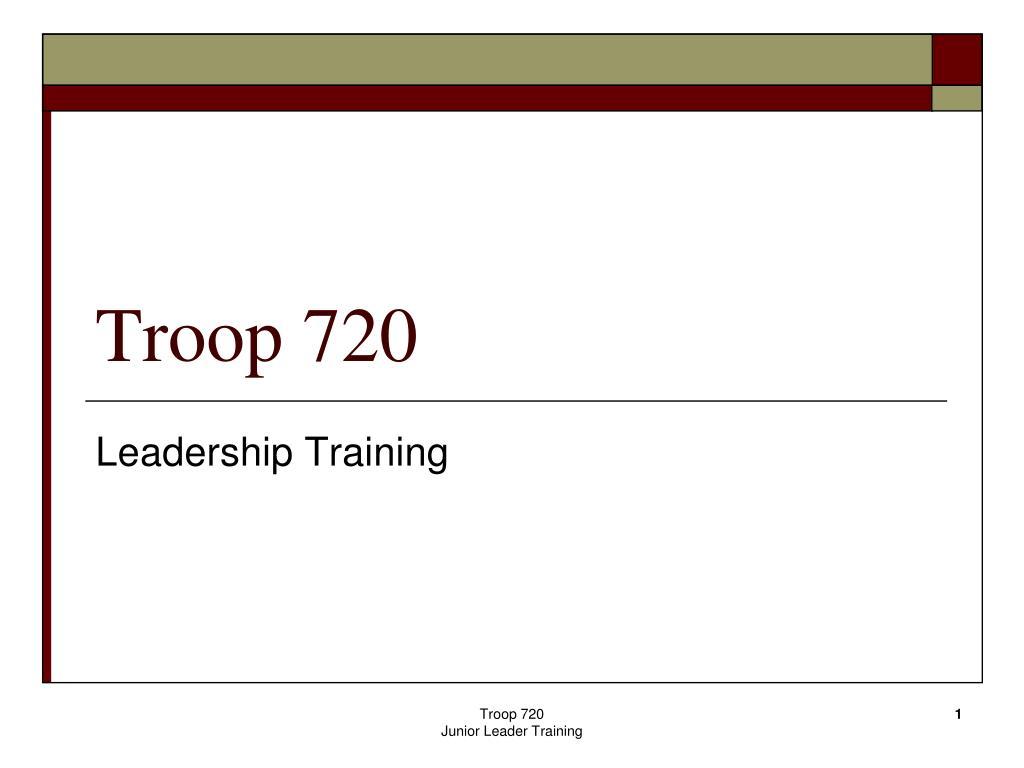 troop 720 l.