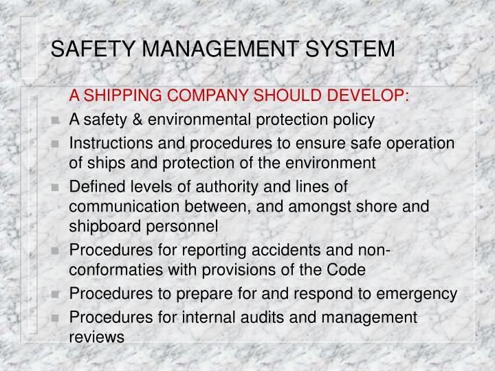 international safety management code pdf