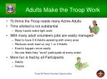 adults make the troop work4