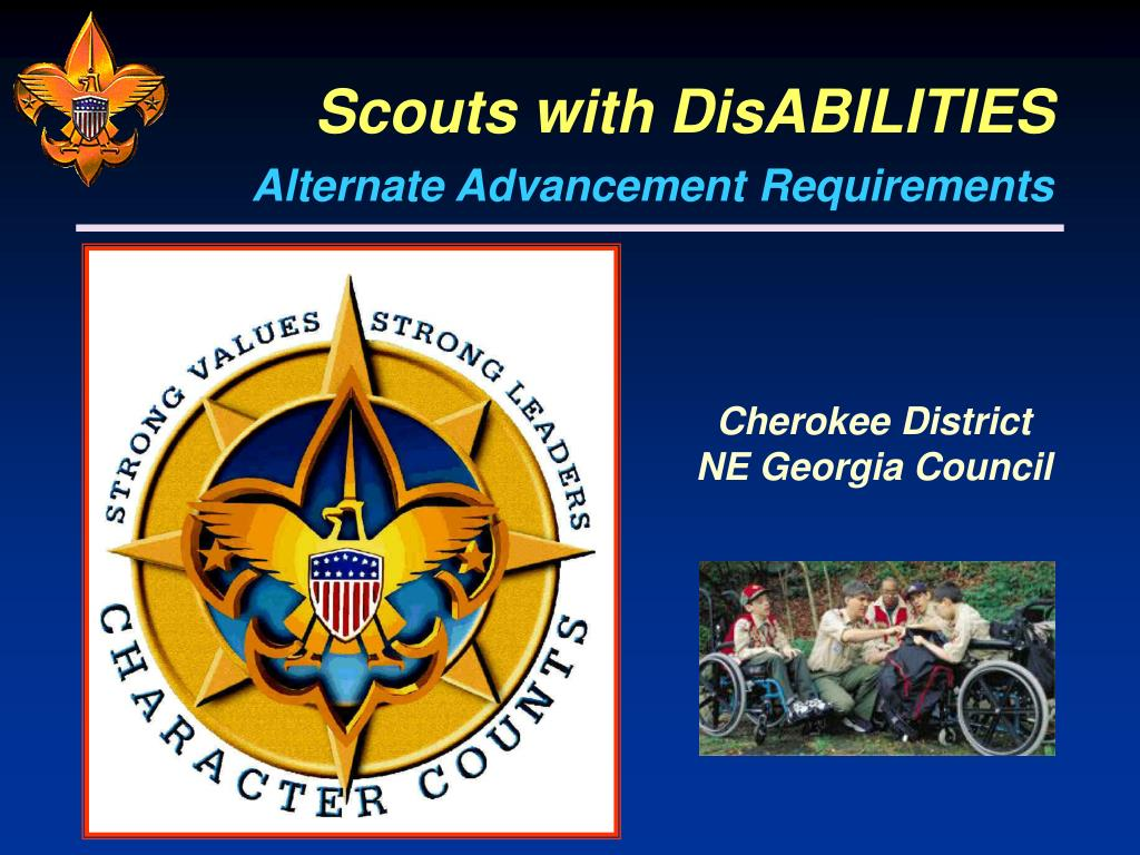 scouts with disabilities l.