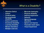what is a disability9