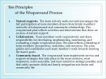 ten principles of the wraparound process16