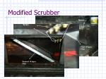 modified scrubber