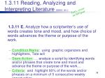 1 3 11 reading analyzing and interpreting literature elem ex